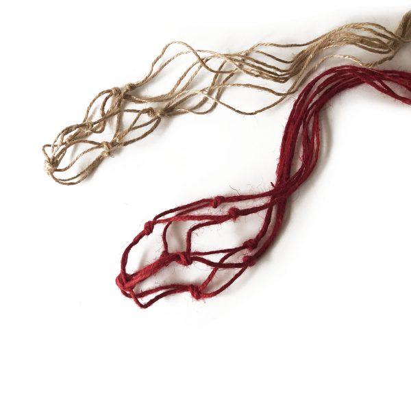 Cuerda para colgar kokedama